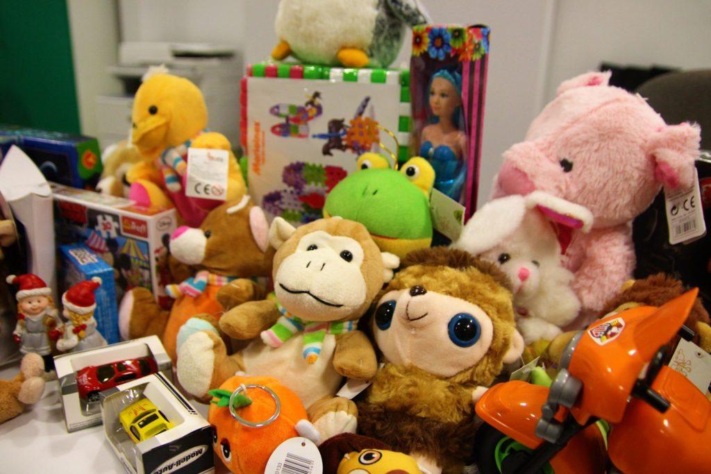 Chorzów pomoc charytatywna zbiórka zabawek